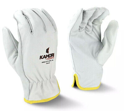 Radians Kamori Goat Skin Cut Level A4 Driver Work Gloves