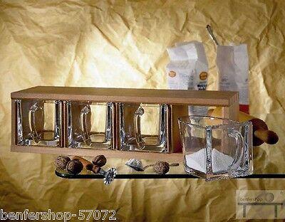 Cassette Legno incl. 4 Aggiungete brodo Mensola per contenitori T27