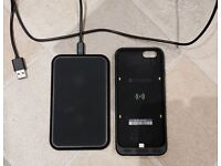 Mophie Juice Pack and Wireless Charging Base for iPhone 6/6s