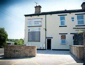 Therapy rooms to rent at The WellBeing Centre, Holistic Therapy Centre, Cleckheaton, Bradford.