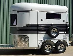 New 2016 Fully Enclosed Steed Ironhorse 2hsl Horsefloat Kilcoy Somerset Area Preview