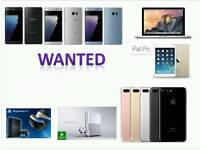 WANTED | X IPHONE 8 8 PLUS 64GB 256GB IPHONE 7 PLUS 32GB 128GB 6S 16GB SAMSUNG S8 NOTE 8 MACBOOK PRO