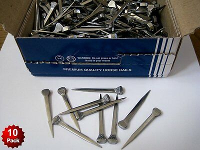 10 Premium Horseshoe Nails Capewell 5 City Stained Glass Lead Project Together