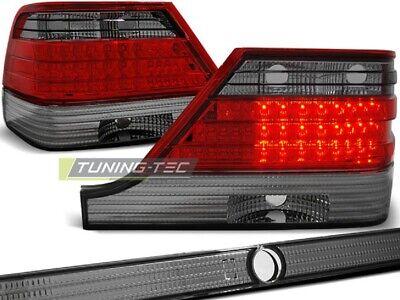 LED Rückleuchten Heckleuchten Mercedes Benz S Klasse W140 95-98 rot/smoke