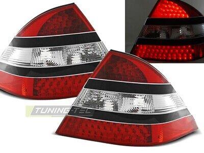 LED Rückleuchten Heckleuchten Mercedes Benz S Klasse W220 98-05 rot/klar