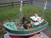 rc boat ,Robbe, St Germain fishing boat