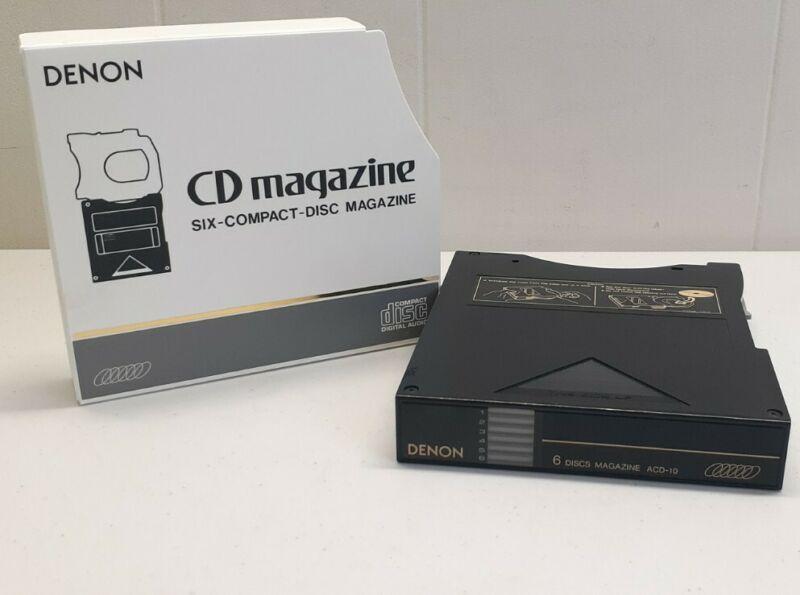 Denon ACD-10 6 Disc Compact Disc Magazine💥