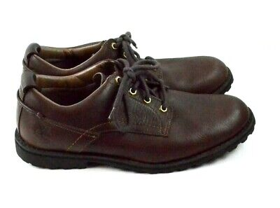 Timberland Men's Oxford Lace-Up Shoes Size 11M Brown