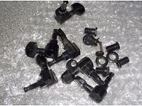 Strat machineheads - full set - black