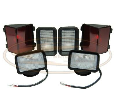 Bobcat Light Kit Lamp Assembly 753 F-c Series Skid Steer Head Tail Front Rear