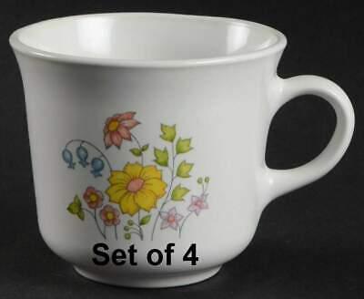 Set of 4 Corelle Meadow 3'' Cups