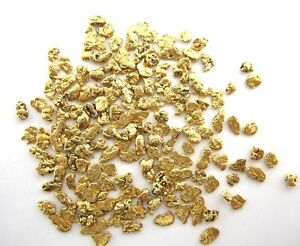 Alaskan Natural Gold Nugget 14-12 Mesh .15 Troy Ounce 4.65 Grams or  3 DWT