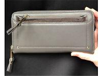 Accessorize grey purse
