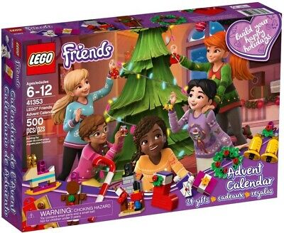 Lego Friends 41353 Friends Advent Calendar Building Kit 500 Pcs