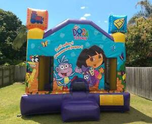 Dora the Explorer Jumping Castle Bouncy Castle - Ninja Jump Brand Geebung Brisbane North East Preview