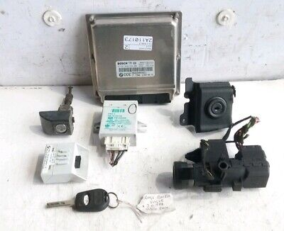 3.0 TD6 RANGE ROVER L322 02-06 ECU LOCK IGNITION IMMOBOLISER KEY SET NNN000461