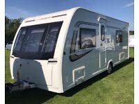 2015 Lunar Clubman SE Caravan Fixed Bed