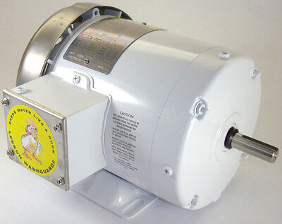 Leeson Electric Motor 115751.00 C6t17fb113b 3 Hp 1740 Rpm 3-ph 208-230460 Volt