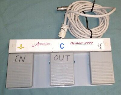 Arthrocare System 2000 Foot Switch