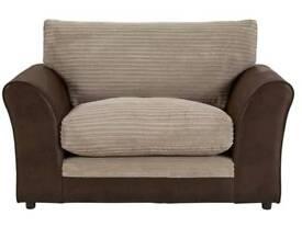 Harley Fabric cuddle chair