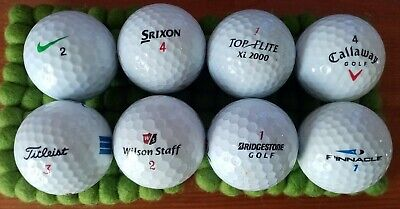 Golf Balls VARIOUS - 25 for £10 BARGAIN
