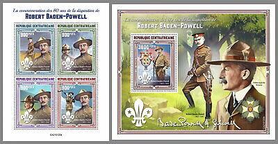 ZENTRALAFRIKA 2021 ** Robert Baden- Powell Pfadfinder Scouts #14-120baB