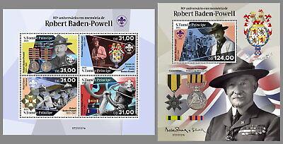 SAO TOME 2021 ** Robert Baden-Powell Pfadfinder Scouts #16-121baB