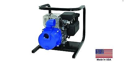 Water Pump Commercial - Portable - 2 Ports - 4 Hp Briggs - 9600 Gph - 48 Psi