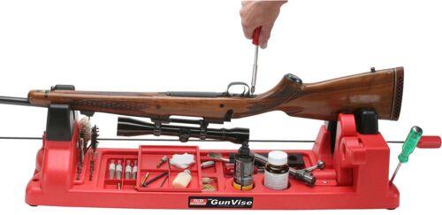 Rifle Shotgun Gun Vise Cleaning Stand Station Smithing Maintenance Center Plasti