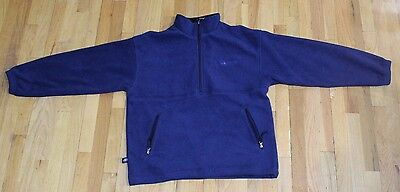 CHARLES RIVER APPAREL ADIRONDACK FLEECE PULLOVER JACKET SIZE LARGE USED - Charles River Apparel Fleece Pullover