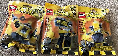 Retired LEGO Mixels Series 6 Yellow 41545 Kramm 41546 Forx 41547 Wuzzo SEALED