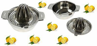 Stainless Steel Citrus Juicer Lemon Lime Orange Fruit Hand Squeezer Press Tool