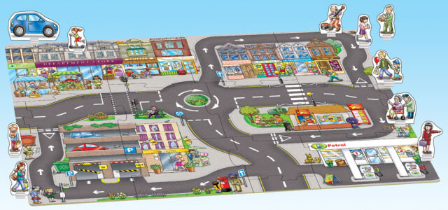 Orchard Giant town Jigsaw