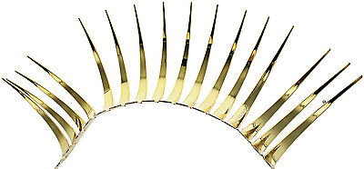 Gold CarLashes r 3D Headlight Eyelashes Accessories for all Volkswagon Car