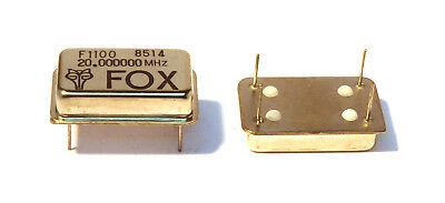 Crystal Clock Oscillator 20mhz Fox F1100