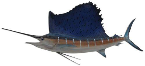 "71"" Sailfish Half Fish Mount Replica - 15 Day Production Time"