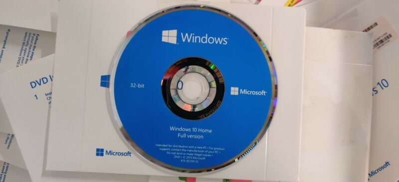 Windows 10 Home CD Only