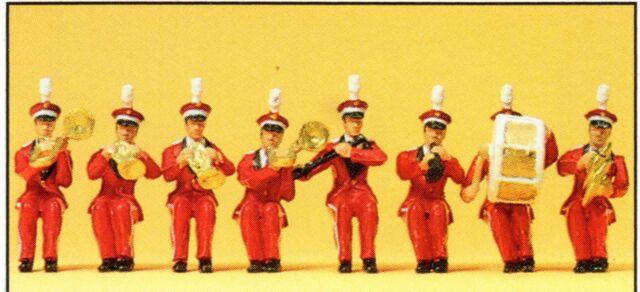 Circusband sitzend Preiser 20259 Figuren Spur HO (16,5 mm) Zubehör OVP