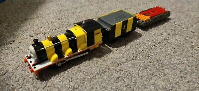 Tomy Plarail Busy Bee James Flatbed TrackMaster Thomas the Tank Engine Tested