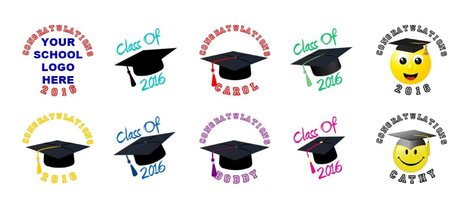 graduation kiss nugget bubble lollipop labels stickers图片