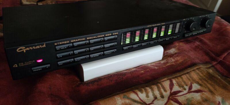 Garrard Geq 360 Vintage Stereo Graphic Equalizer with Spectrum Analyzer