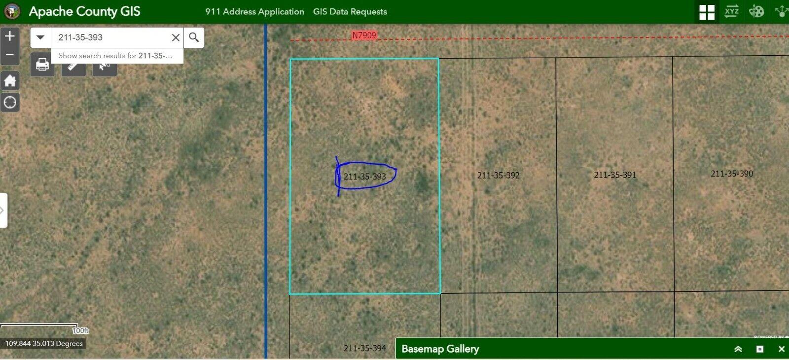 Home Site! Apache County!! 2 Acres. Close to Luna Land Ranch. No Reserve.