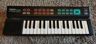 Yamaha PSS 80 Portasound Keyboard - immaculate Box+ Instructions + power supply