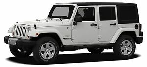 2012 Jeep Wrangler Unlimited Sahara (Leather, Touchscreen)