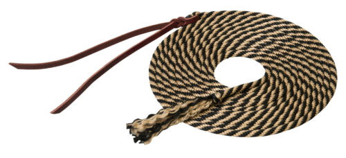 Weaver Leather Silvertip Get Down Lead Rope, Leather Popper, 14