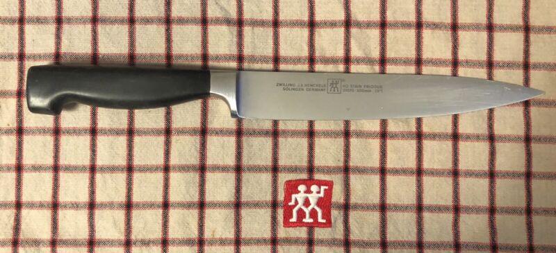 "Zwilling J.A. Henckels Four Star 8"" Carving Knife RAZOR SHARP! L@@K"