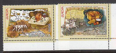 Rumania 2005. Europa. 2 v. MNH