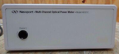 Newport Multi-channel Optical Power Meter Model 4832-c