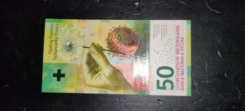 Switzerland, 50 Francs, 2016, Mint Condition