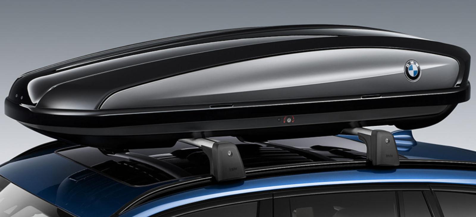 Dachbox VDPMAA320L+Stahl Dachträger Original BMW Serie 5 GT F07 5Türer ab 09
